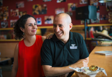 Restaurateur couple Ines Cabarrus-Habayeb and Elian Habayeb of Chihuahua Mexican Grill