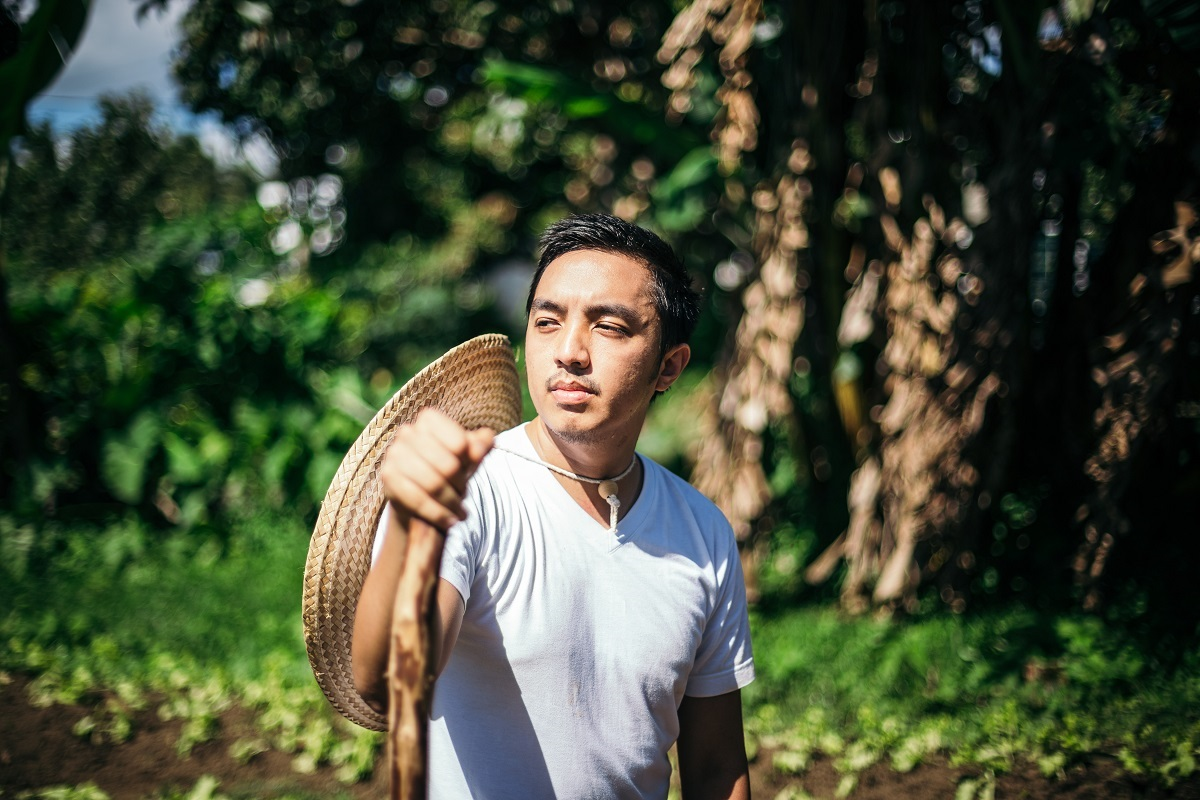 Raphael Dacones' farm in Pangasinan, which he started with 500 square meters, has now grown to roughly five hectares
