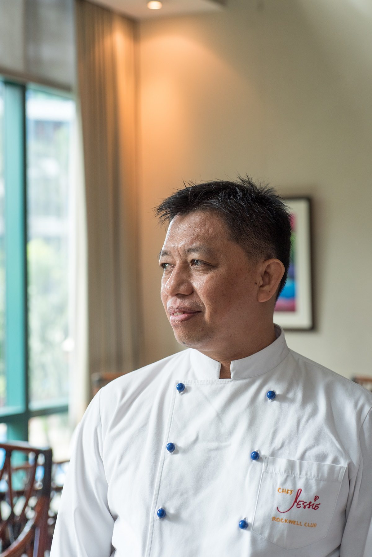 With no formal culinary background, chef Bai's career took a steady ride without pulling at any stops