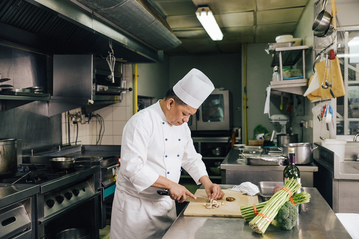 Chef Bai admits he would not have made it this far in his career had it not been for the help and guidance of the people he works with
