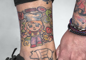 More of Paul Samson's tattoos