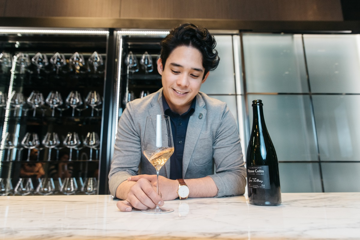 Two qualities required of sommeliers: being personable and sympathetic