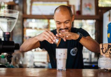 Kiddo Cosio of El Union Coffee arguably played a key role in La Union's development