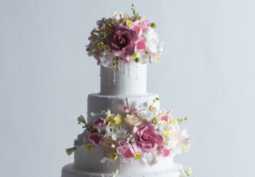 Wedding cakes are age-old traditions but they will always welcome new forms of expression