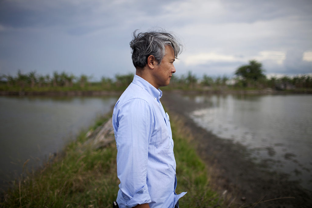 """Sustainable aquaculture proponent Kiko Torno does not want to be called organic because he believes it's a """"business model"""" now"""