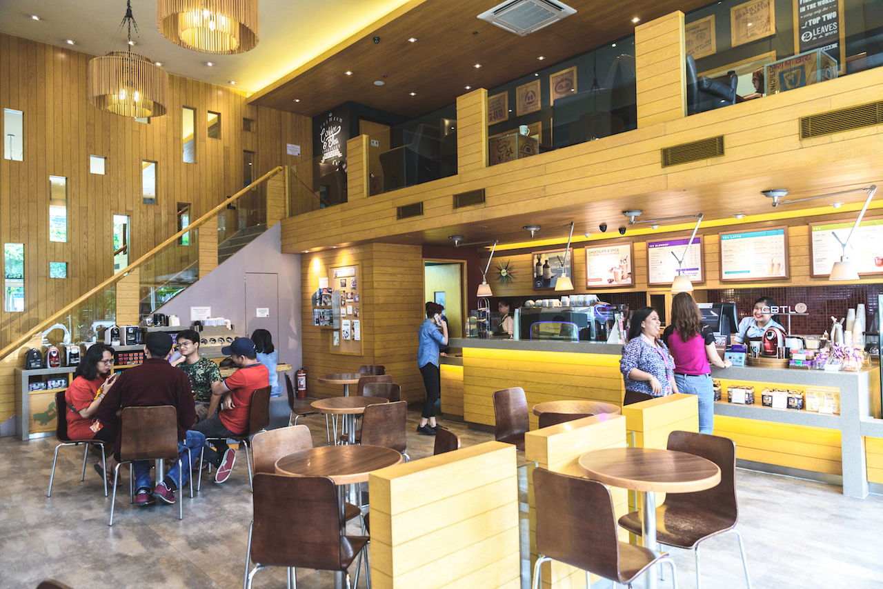 Restaurants, cafes, mall: a selection of quotes