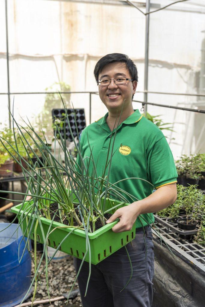 Urban farming expert Julius Barcelona