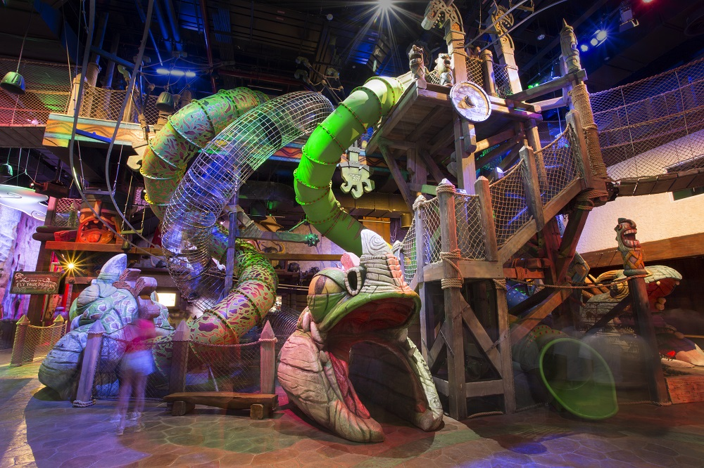 """""""How to Fly Your Dragon"""" attraction at DreamPlay by DreamWorks"""