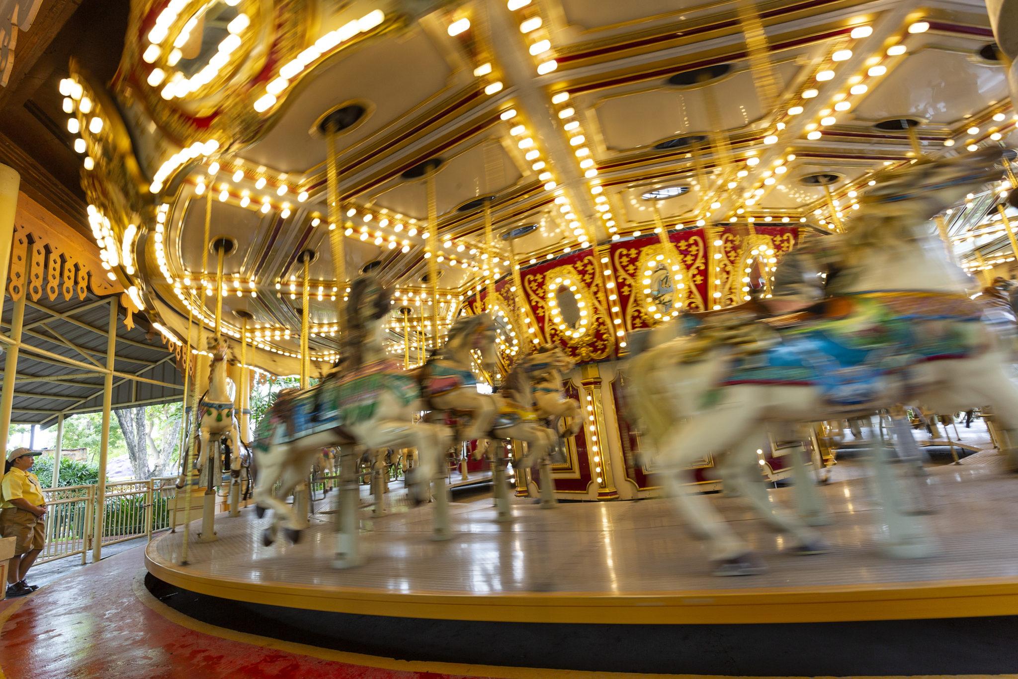 Carousel at Enchanted Kingdom