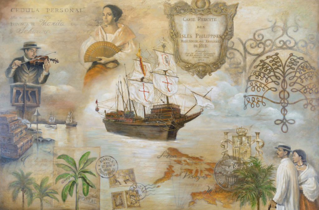 """Artworks such as """"The Explorers"""" by Gerry Joquico are considered one of Raffles Hotels' prized amenities"""