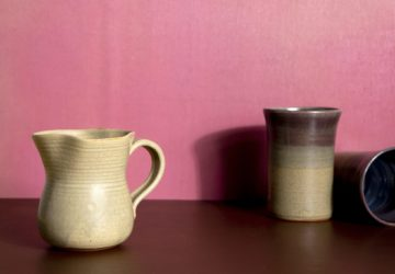 Bespoke stoneware crafted by local artisans