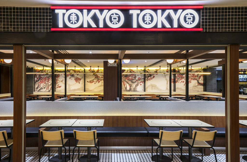 The idea behind the Tokyo Tokyo redesign was to create Japanese sensibilities through Filipino cultural lens