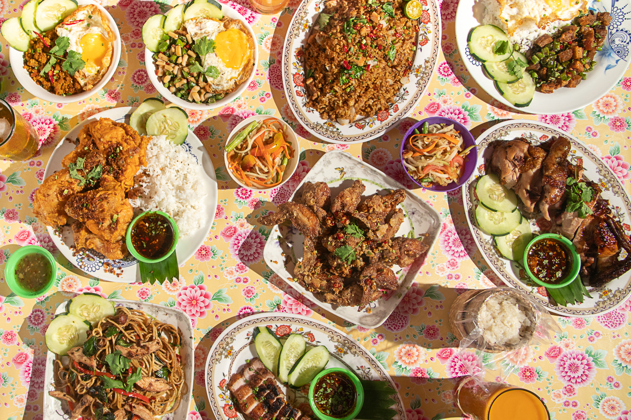 Many of Khao Khai's dishes originated from the Isan region, a place considered by Thai food enthusiasts as the country's culinary capital because of its complex and intensely flavored food