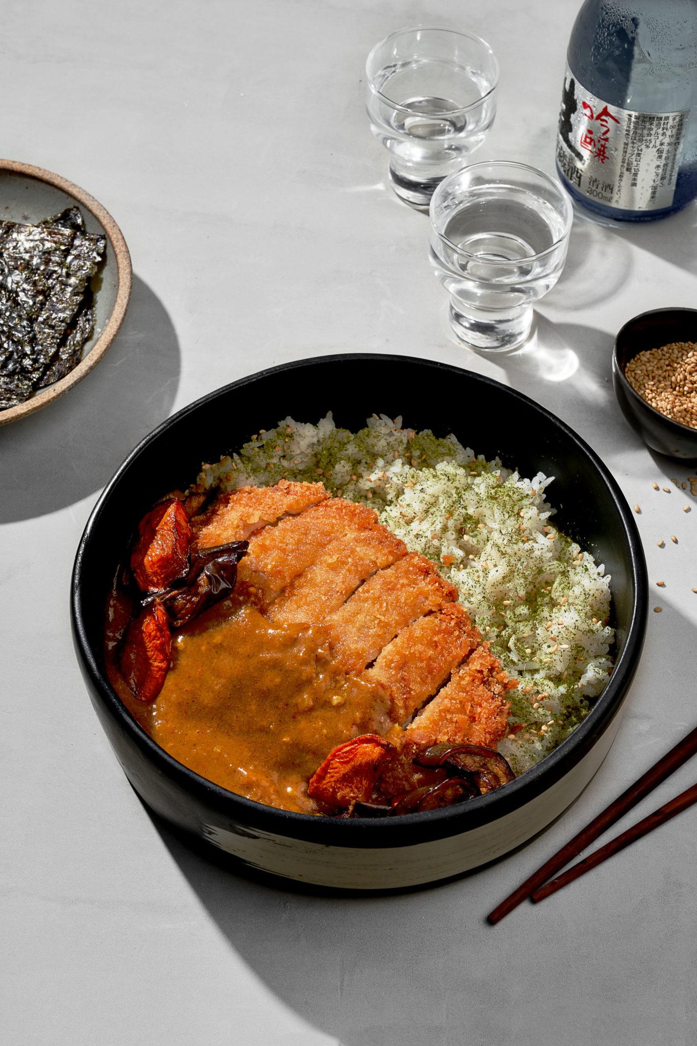 Ooma menu update: Cheese katsu curry don