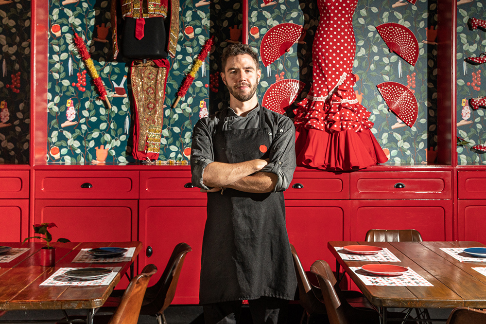 Another mark of Tomatito chef Ivan Fernández's admirable leadership is his receptivity to practically everything