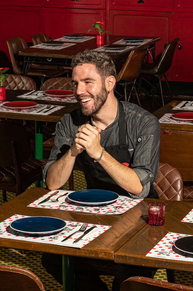 """For Ivan Fernandez, """"sexy"""" tapas is all about showcasing originality"""