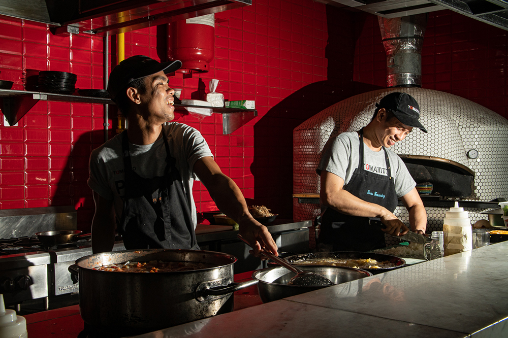 Having a good relationship with your staff is an important element of any restaurant kitchen