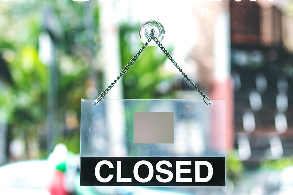 Business closure isn't easy but if you really have, there are ways to do it properly