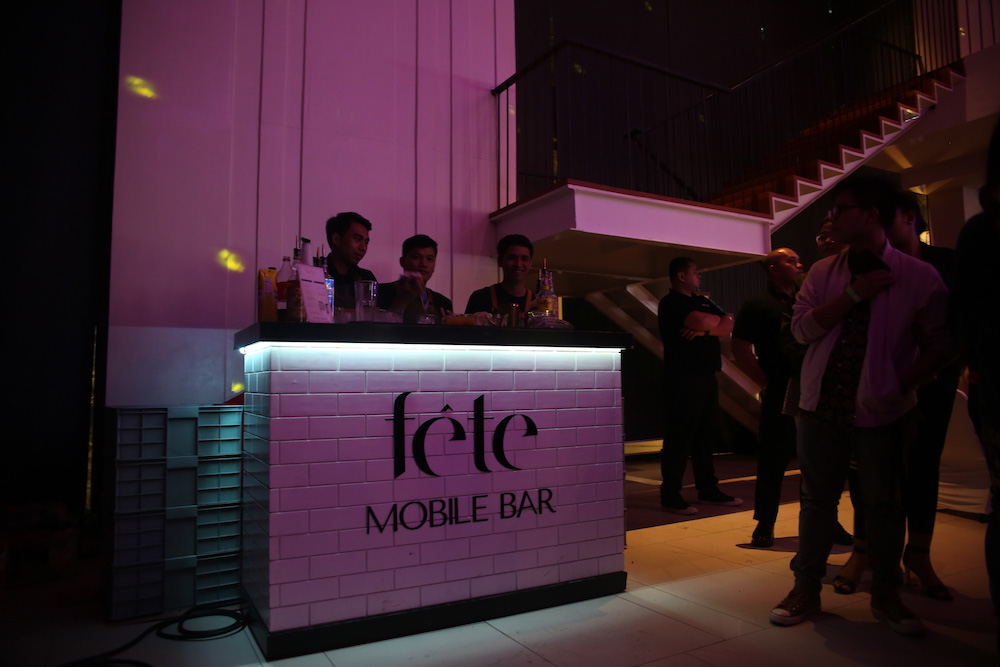 A mobile bar brings any gathering to life