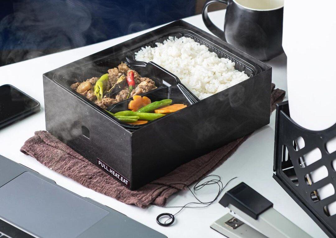 self-heating food box
