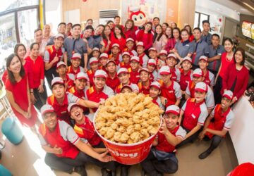 Jollibee also made it to Forbes' List of the World's Best Employers