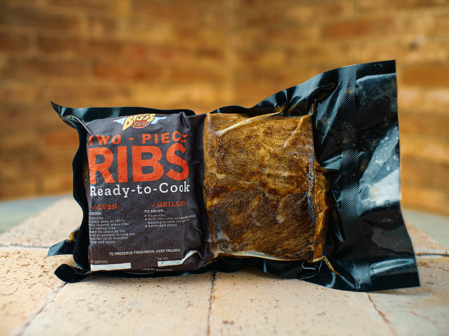 Biggs' solution for an authentic dine-at-home experience? Ready-to-cook ribs