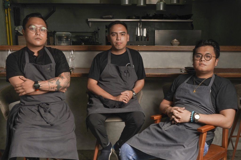 Chefs and restaurateurs Kevin Villarica, Kevin Navoa and Thirdy Dolatre admitted that they share an ambitious dream: To become the best restaurant in the Philippines and eventually one of the best in Asia