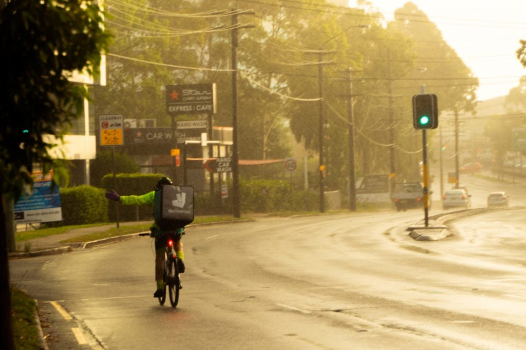 """""""[Delivery riders] are part of a global movement, part of a global struggle"""""""