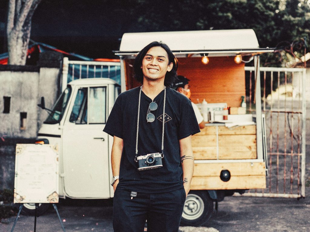 Shifting from advertising to food trucks