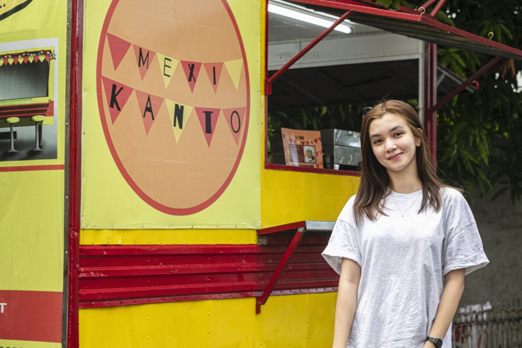 Claire Quinan, owner of MexiKanto Food Truck