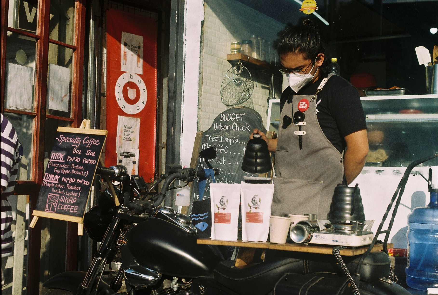 Sikap promotes local coffee on wheels