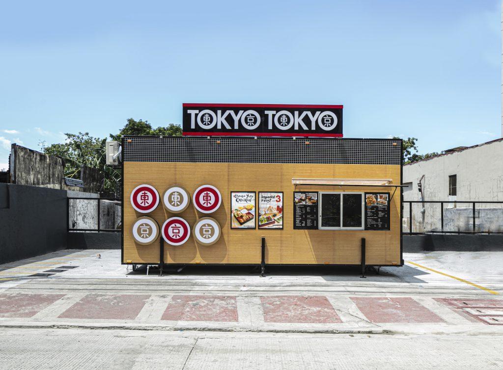 Tokyo Tokyo's own version of food trucks