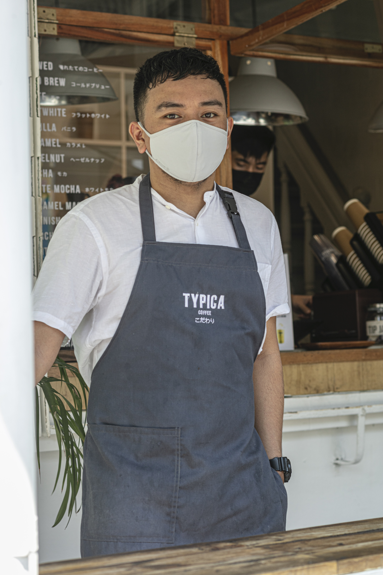 Andrew Magana of Typica Coffee originally set up shop in downtown Antipolo