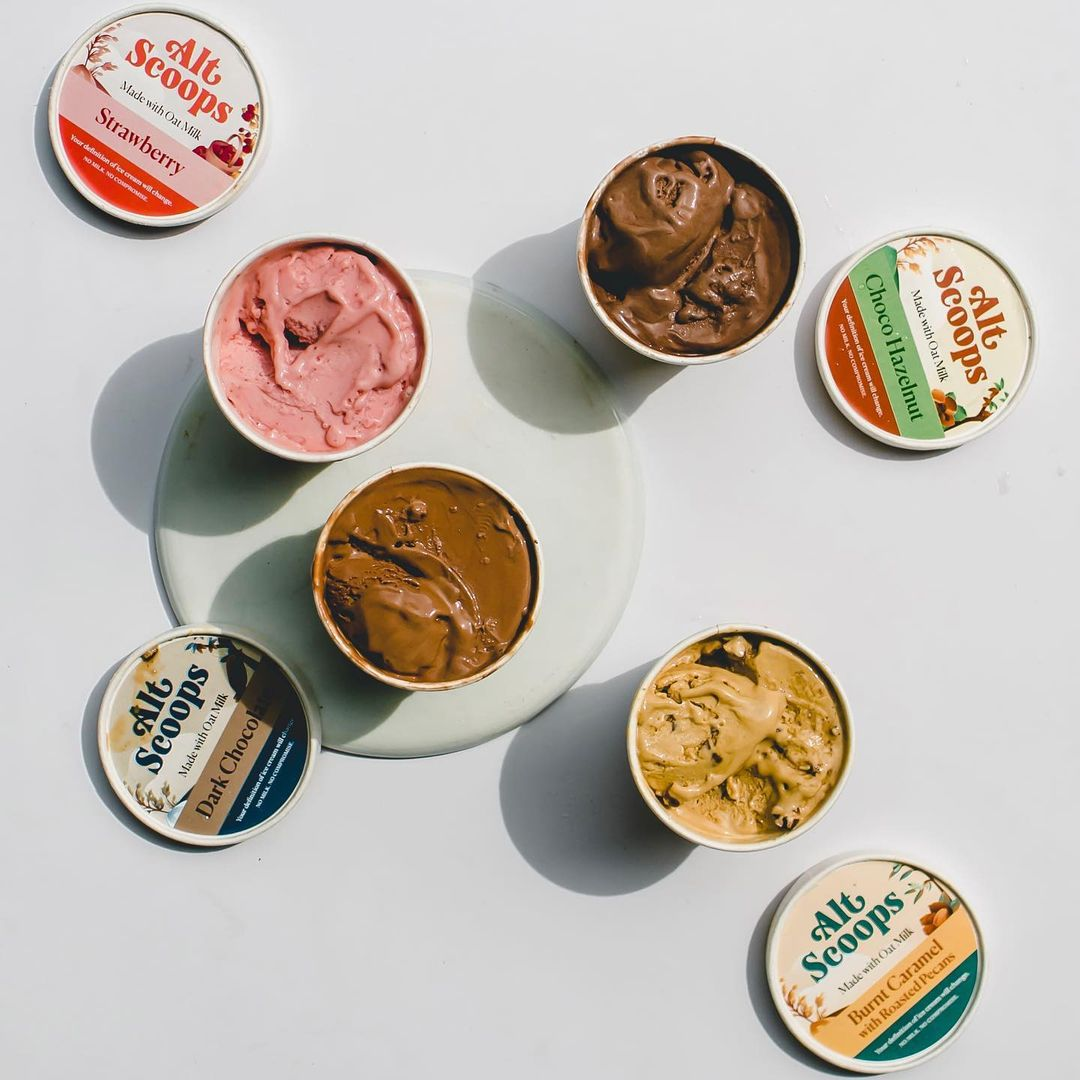 Alt Scoops is made with 100 percent vegan ingredients