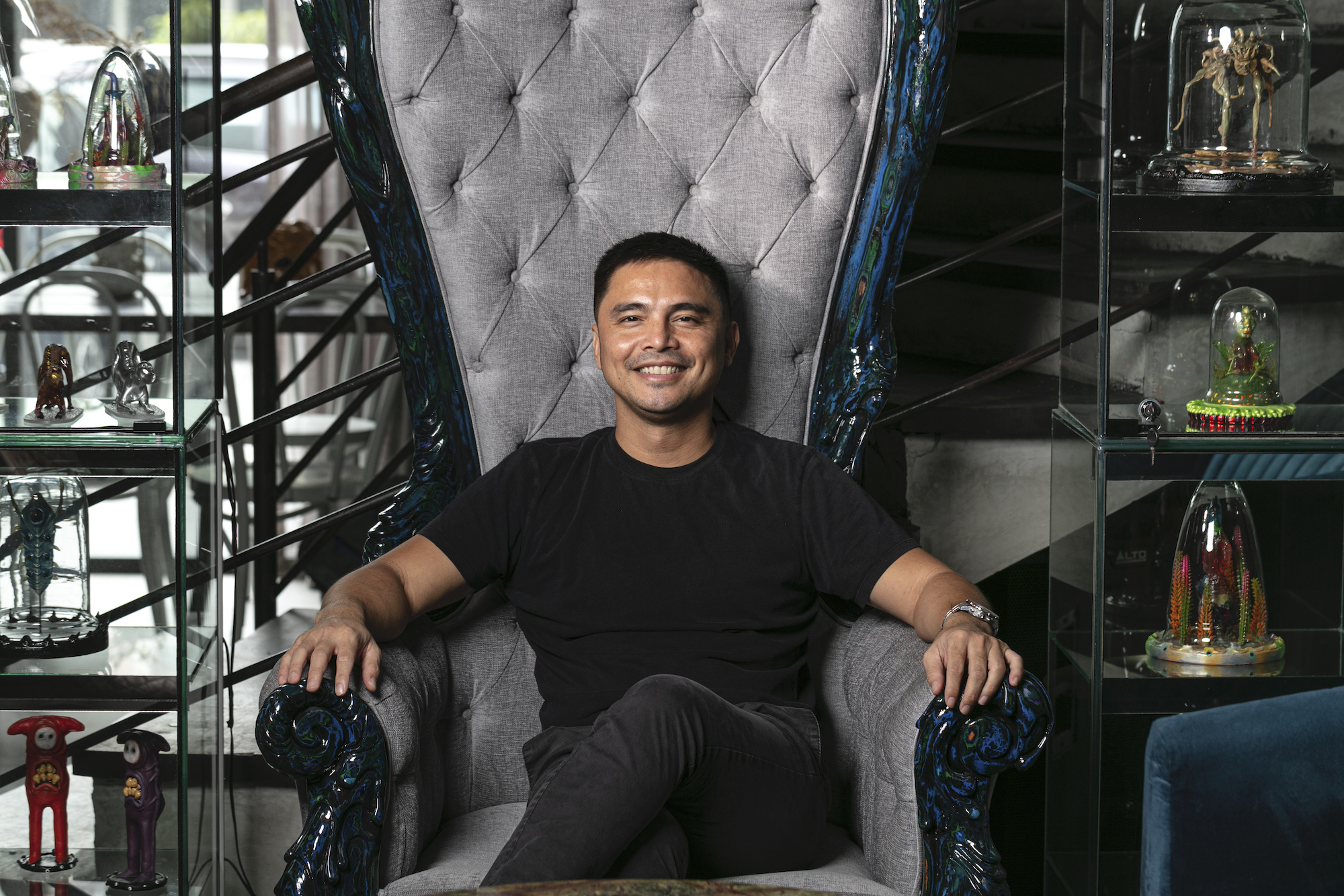 Actor, chef, and entrepreneur Marvin Agustin at Kondwi