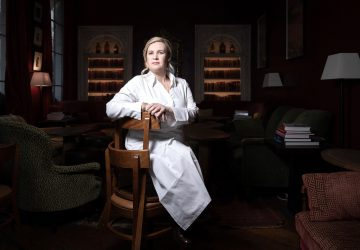 """Helene Darroze—a decorated chef with five Michelin stars—has also become a household name thanks to her regular appearances on """"Top Chef"""""""