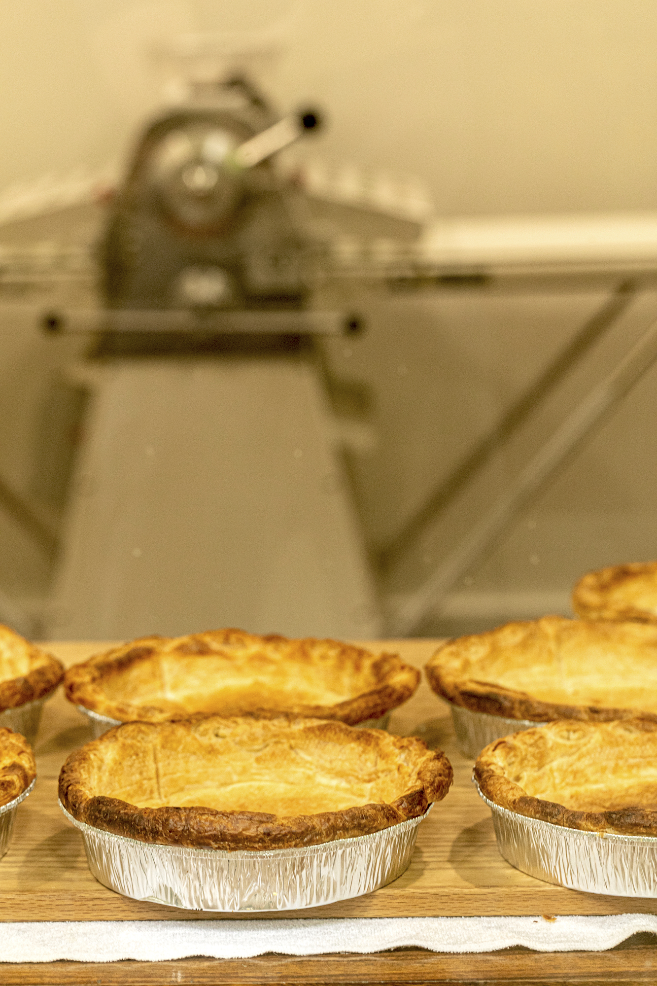 Raeanne Young Sagan bakes every pie by hand