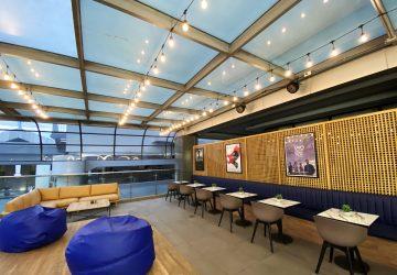 Cinema '76 Café is TBA Studios' newly opened physical cafe, right beside its microcinema Cinema '76 Film Society