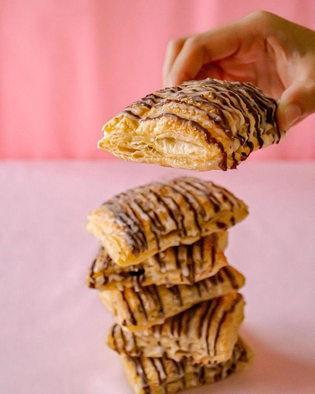 Hazelnut choco puffs