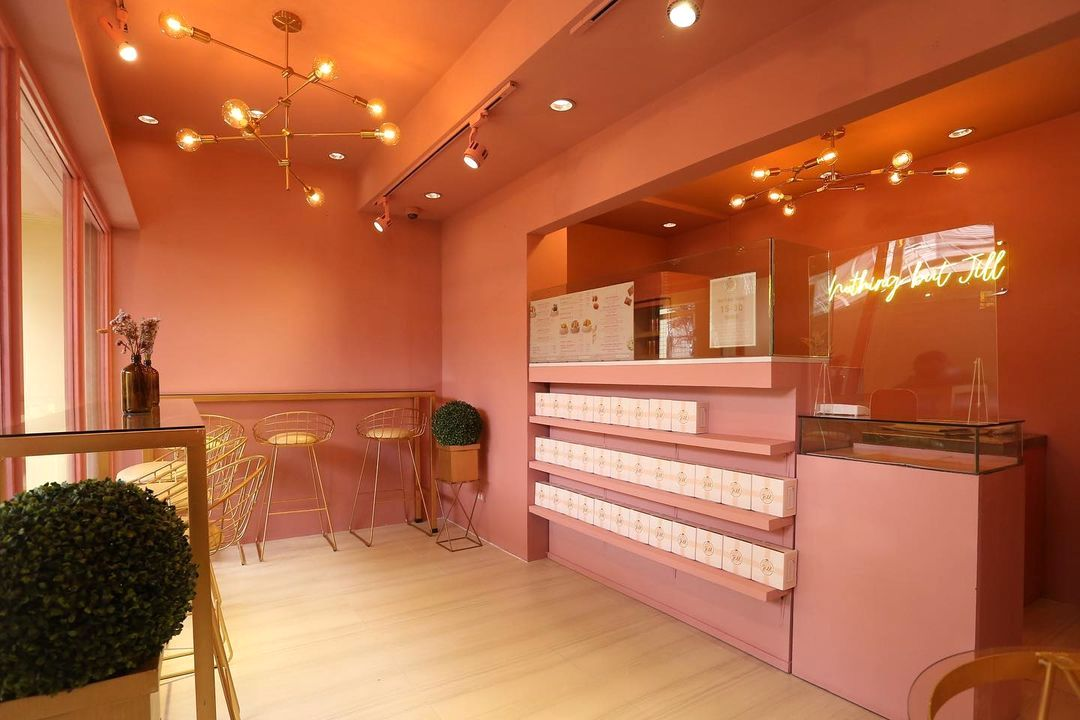 """The """"physical mini cafe"""" where customers can lounge in cozy, Instagram-worthy interiors"""
