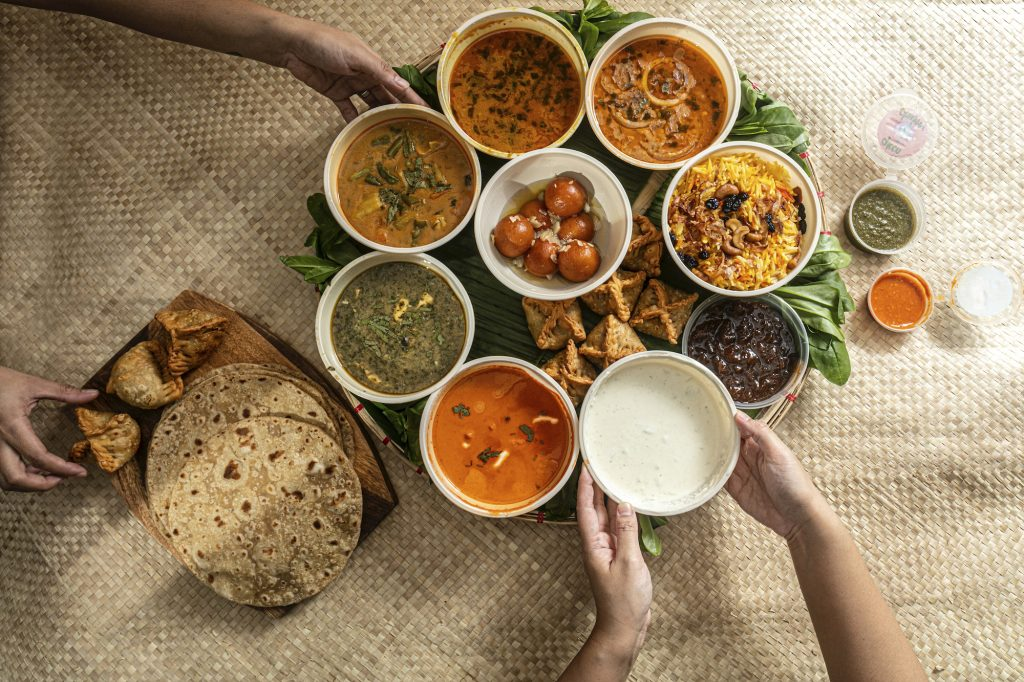 The package design of Kashmir for its Thali Bilao merges local design elements
