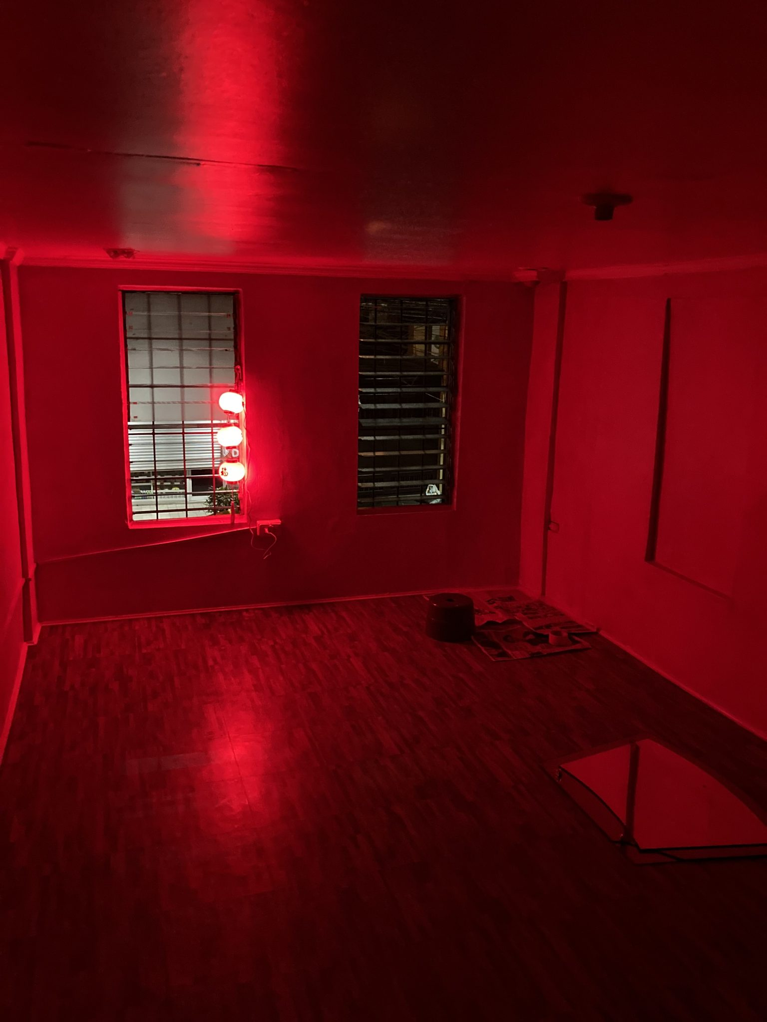 The second floor under renovation. Miel Ochoa intends to transform this as a creative space