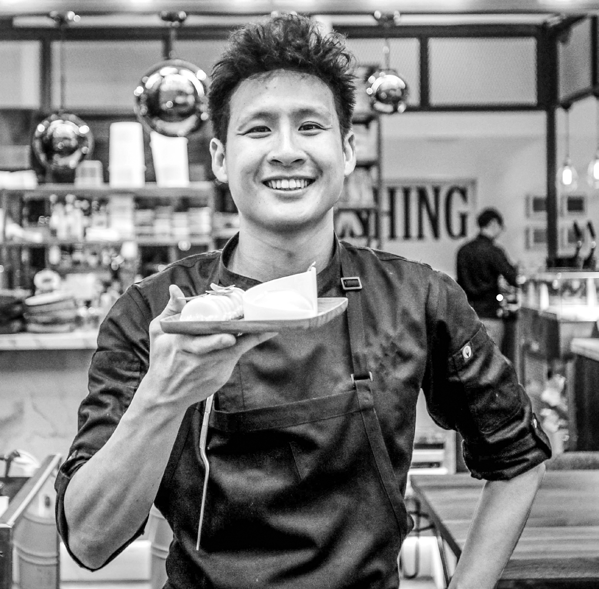 Fatcat Ice Cream Bar chef and owner Charles Tan is no stranger to Lexus