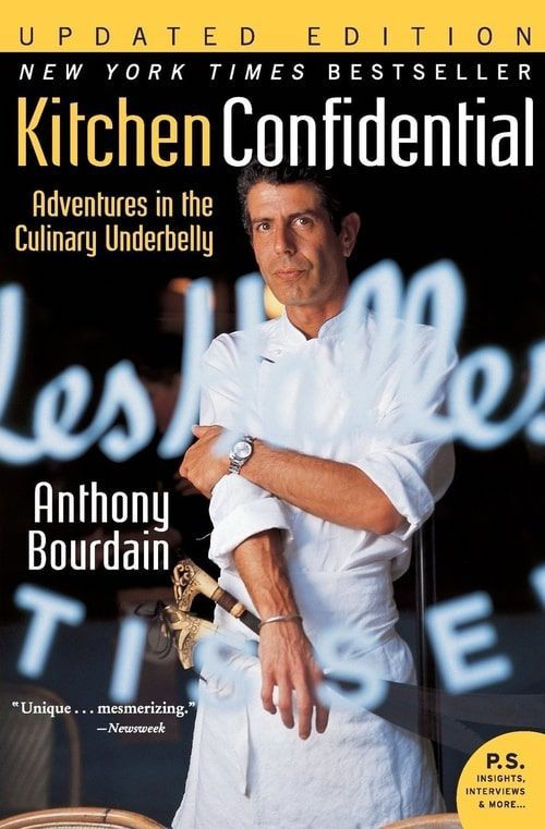 Kitchen Confidential may be the oldest book on this list, but it is a classic tale of inspiration