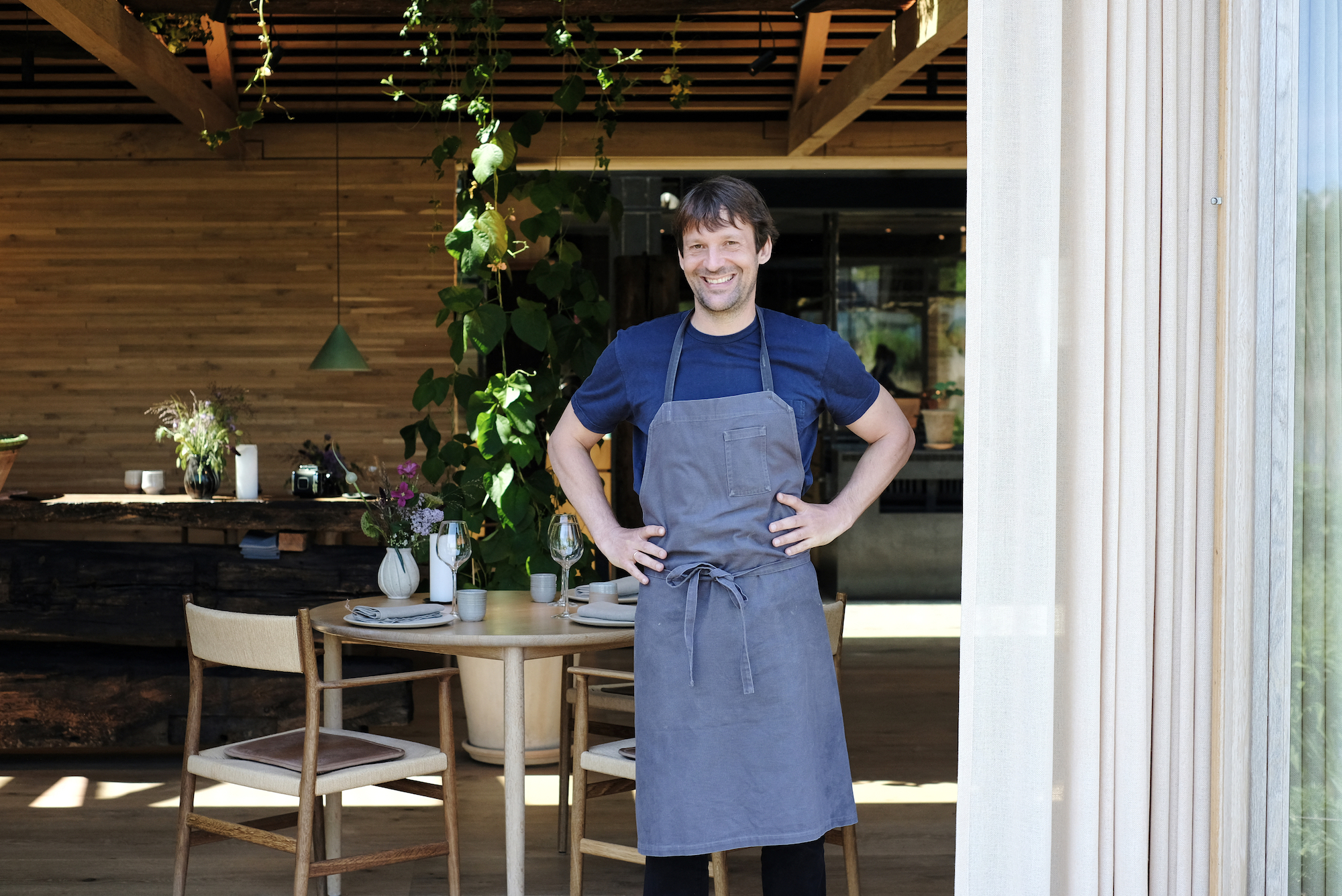 Rene Redzepi, chef and co-owner of the World class Danish restaurant Noma is pictured on May 31, 2021 in Copenhagen