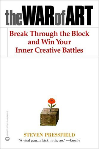 """The book """"The War of Art"""" asks you to sit at your desk, tear down demands for perfect work or the best idea, and just get working"""
