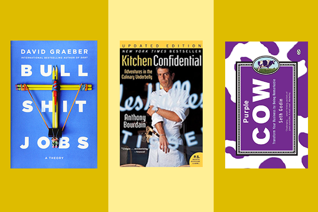 Five of the best books for every type of entrepreneur